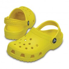 CROCS Kids Classic Clog Lemon