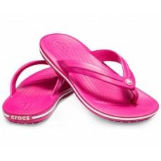CROCS Kids Crocband Flip Cdy Pink RRP £16.95