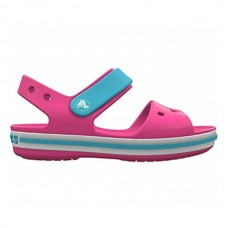 CROCS Kids Crocband Sandal Candy Pink/ Pool