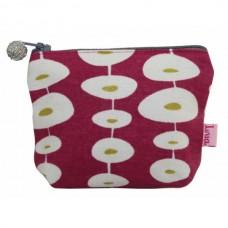 LUA Mini purse raspberry oval link