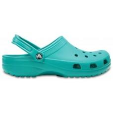 Adult Classic Crocs Clog Tropical Teal