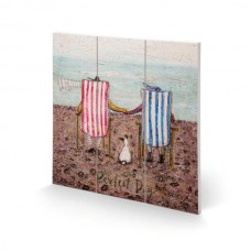SAM TOFT PERFECT DAY WOODEN PICTURE