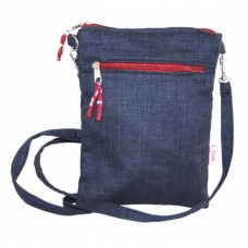 LUA Cross Body Bag Dark Blue