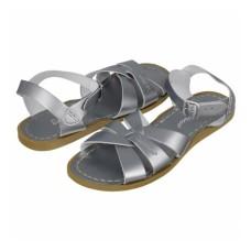 SALT-WATER Sandals Pewter  Was £59.95