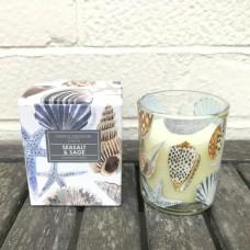 Gisela Graham small glass candle shells