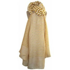 Stripe Scarf Yellow