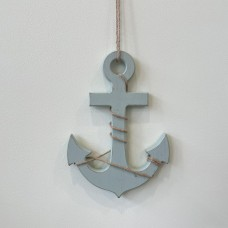 Hanging Wooden Anchor