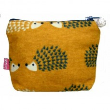 LUA Mini Purse Yellow Hedgehog