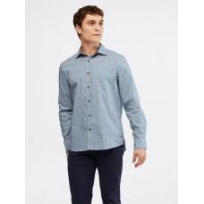 WHITE STUFF Geo Fish Print Shirt Navy