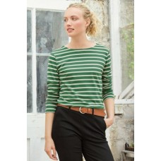 SEASALT Sailor Shirt Breton Hedgerow Chalk