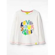 WHITE STUFF Love Your Planet Jersey Tee   Was £18.50