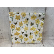 Buttercup and Bee Napkins