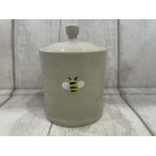 Ceramic Mini Bee Honey Pot