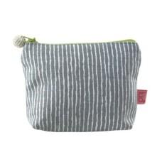 LUA Mini Purse Stripe Grey