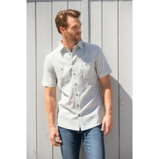BRAKEBURN GEO SHORT SLEEVE SHIRT