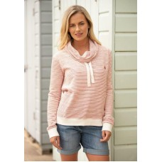 BRAKEBURN WOMENS COWL NECK SWEATER ECRU Was £49.95