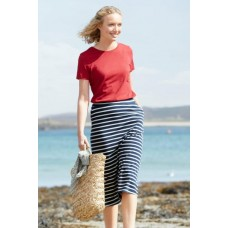 SEASALT Island Days Skirt Breton Harbour Ecru