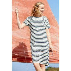 SEASALT Sailor Dress Breton Ecru Harbour