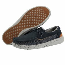 HEY DUDE SHOES WALSH MESH GRIP NAVY