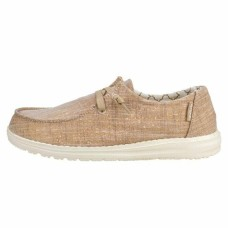 HEY DUDE SHOES WENDY CHAMBRAY ROSE GOLD SPARKLE RRP £44.95