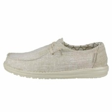HEY DUDE SHOES WENDY CHAMBRAY  GOLD SPARKLE Was £44.95