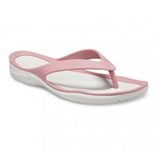 CROCS Swiftwater Flip W Cassis Pearl White