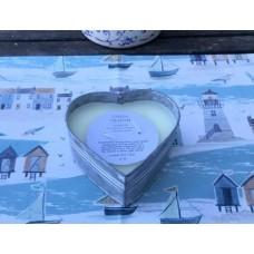 Gisela Graham Tin heart citronella candle