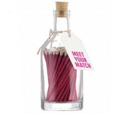 Luxury bottled long matches Meet your match