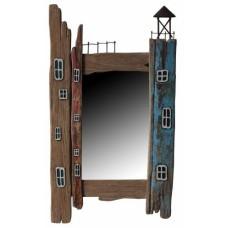 Rustic Lighthouse Mirror
