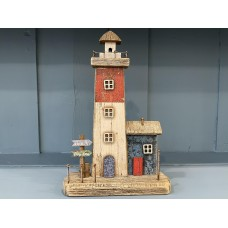 Rustic Lighthouse Decoration