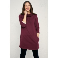 SEASALT Gwenver Sweatshirt Merlot  RRP £59.95