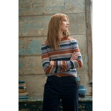 SEASALT Art Deco Jumper Ladock Sailor Mix  RRP £79.95