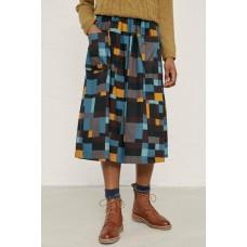 SEASALT Seal Spotting Skirt Artist Check Storm  RRP £65.00