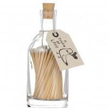 Luxury bottled long matches Token of Love