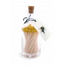 Luxury bottled long matches Bee