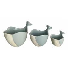 Set of 3 Whale Measuring Cups