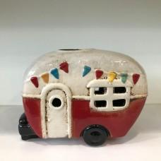 Ceramic Red Caravan
