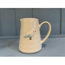 Ceramic Seagull Jug