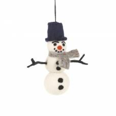 FELT SO GOOD William Felt Snowman