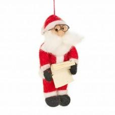FELT SO GOOD Naughty & Nice Felt Santa