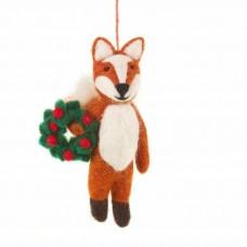 FELT SOGOOD Finlay the Festive Felt Fox