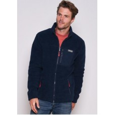 BRAKEBURN Fleece Jacket Navy RRP £62.95
