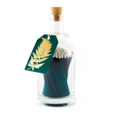 Luxury bottled matches Fern Leaf