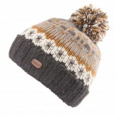 KUSAN Bobble Hat With Turn Up Denim
