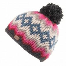 KUSAN Bobble Hat Pink