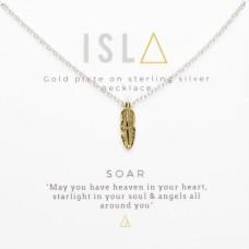 ISLA Soar Gold Plate Sterling Silver Necklace
