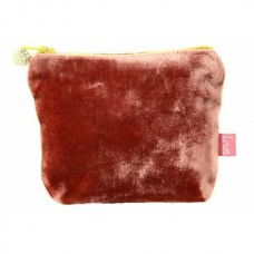 LUA Mini Velvet Purse Rosewood Pink