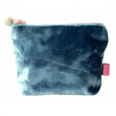 LUA Mini Velvet Purse Teal