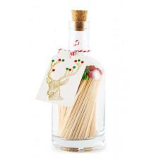 Luxury Bottled Matches Rudolph