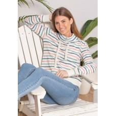 BRAKEBURN Cowel Neck Sweater Multi  RRP £47.95